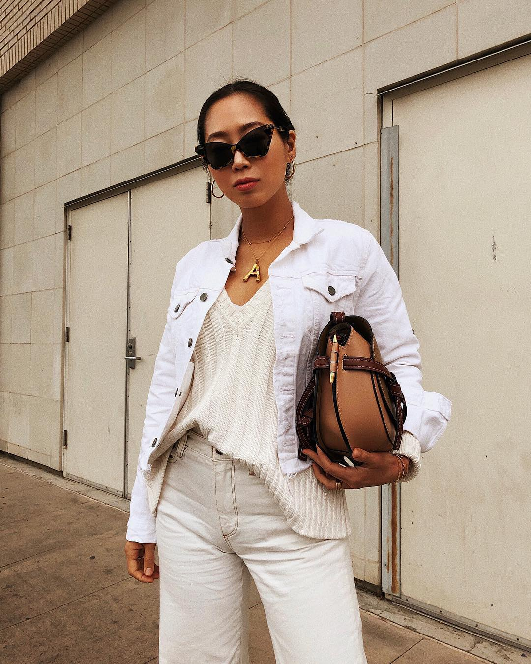 aimee_song_of_style_white_jean_jacket_white_sweater